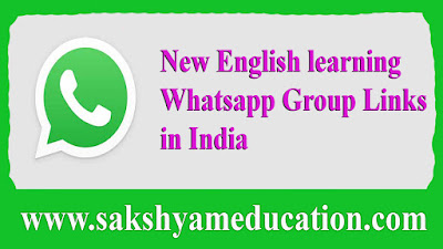New English learning Whatsapp Group Links in India