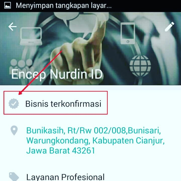 verifikasi whatsapp