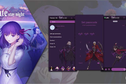 Download Tema Line Fate/Stay Night: Heaven's Feel