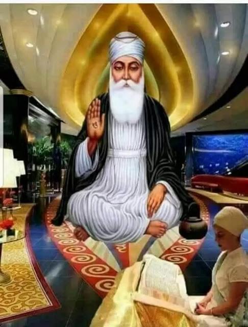 original pic of guru nanak dev ji