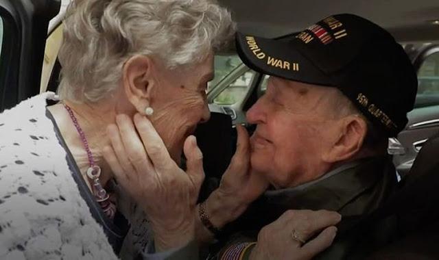 97-летний ветеран воссоединился со своей возлюбленной спустя 75 лет