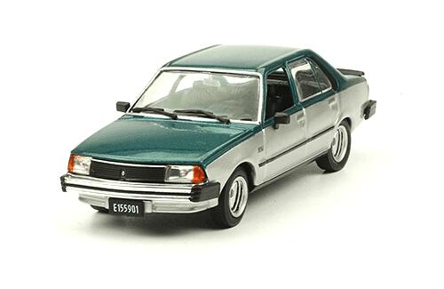 Renault 18 GTX 1984 1:43, autos inolvidables argentinos 80 90