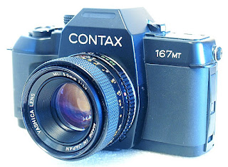 Contax 167 MT, Yashica ML 50mm F1.7