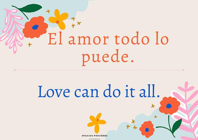 Spanish Proverb Translated