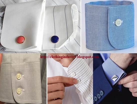 Different Types Of Cuffs In Garments Clothing Industry