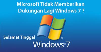 Windows 7 Sudah Ditiadakan Microsoft, Tetapi Masih Ingin Mengunakan Windows 7 ?