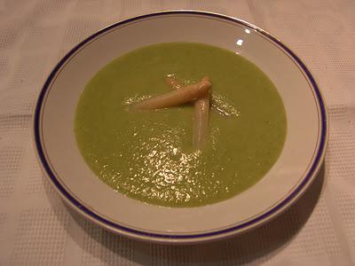 Crema de judias verdes y esparragos recetas de cocina - Tiempo de coccion de judias verdes ...