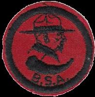 Insignia de Patrulla Scout. Boy Scouts of America. Patrol Medallion Dan Beard