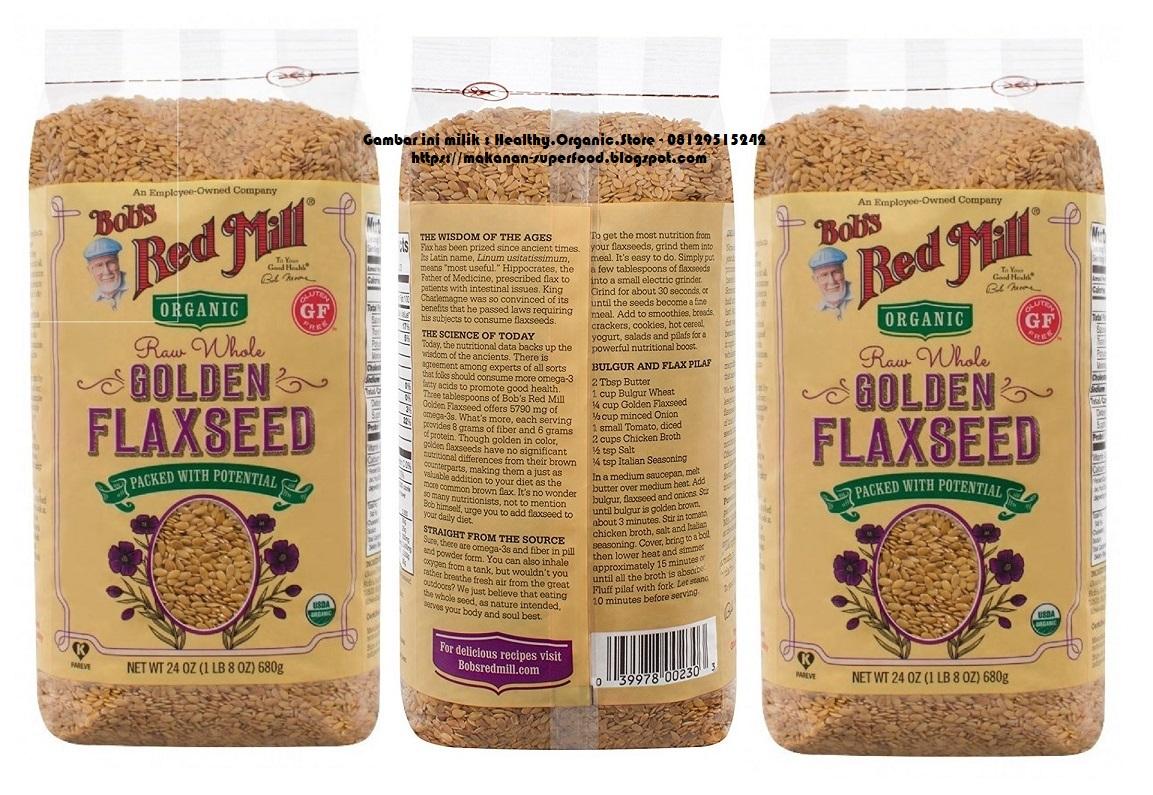 Mengulik Manfaat Minyak Biji Rami (Flaxseed): Lancarkan Pencernaan Sampai Mencegah Kanker