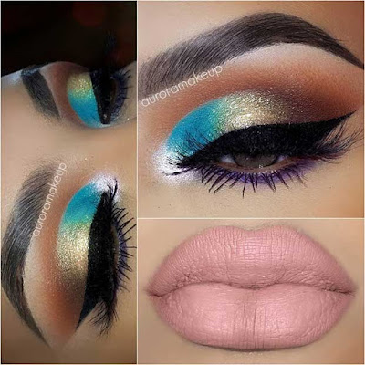 Summer is the best season once we get creative ✘ 22+ Vibrant Summer Eye Beauty Makeup Styles for 2020