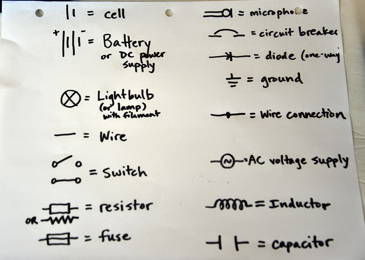 small resolution of fish simple foil circuits series and parallel circuits schematics