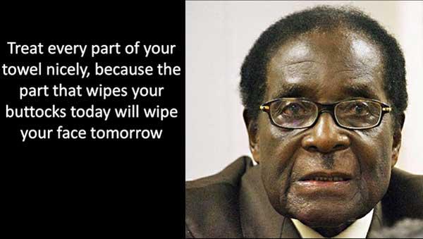 Quote atau Kutipan Unik dari Robert Mugabe