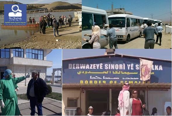 """فيروس كورونا بين دفتي كردستان """" الجنوبية والغربية """" والكارثة المحتملة"""