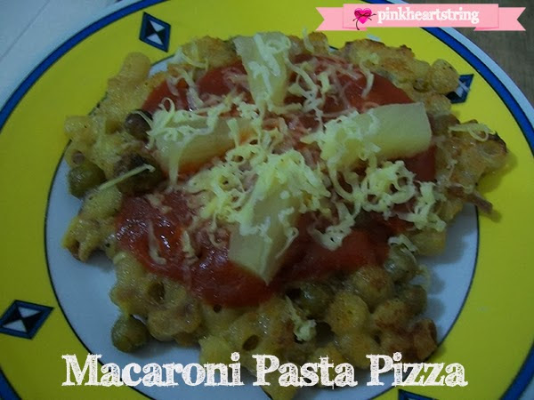 DIY Foodie: Macaroni Pasta Pizza