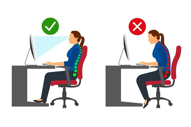 Belajar dan Bekerja di Rumah Berikut 6 Tips Duduk Yang Nyaman
