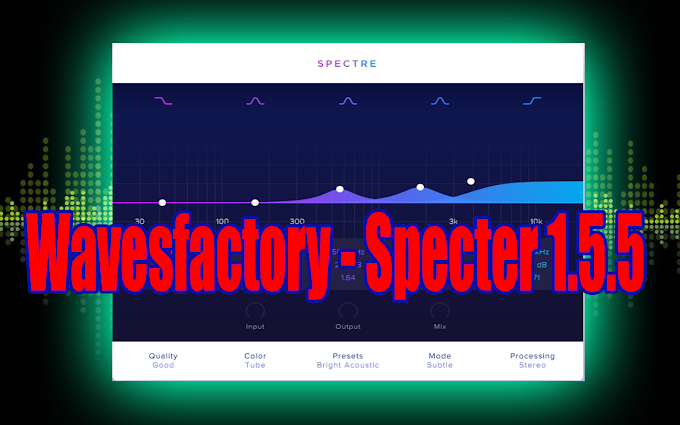 Specter 1.5.5 BY Wavesfactory VST, VST3, AAX x64