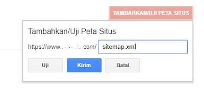 Cara Menambahkan Sitemap Pada Search Console