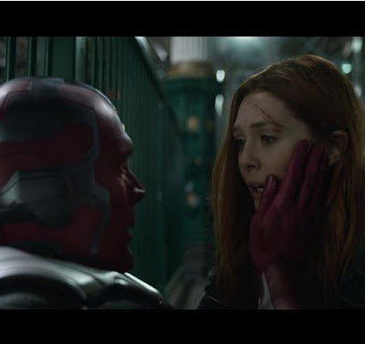 Where was Wanda and Vision when they were attacked by Midnight and Glaive?