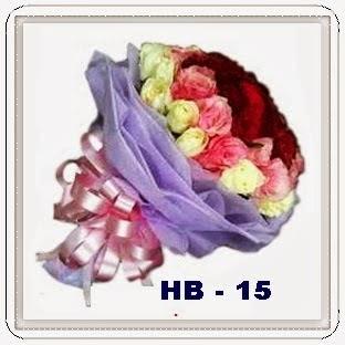 Karangan Bunga Lily