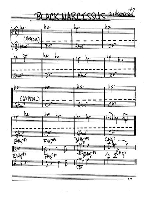 Partitura Violonchelo Joe Henderson