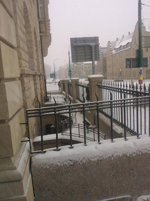 ulica-św.Marcin-w-śniegu