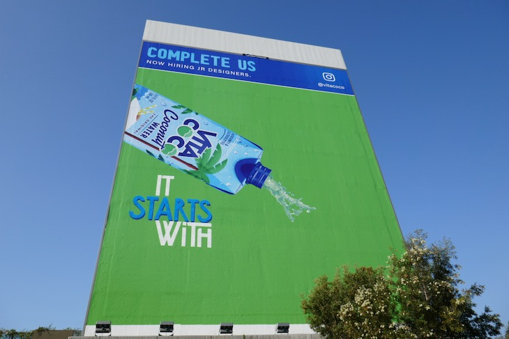 Giant Complete us Vita Coco It starts with billboard