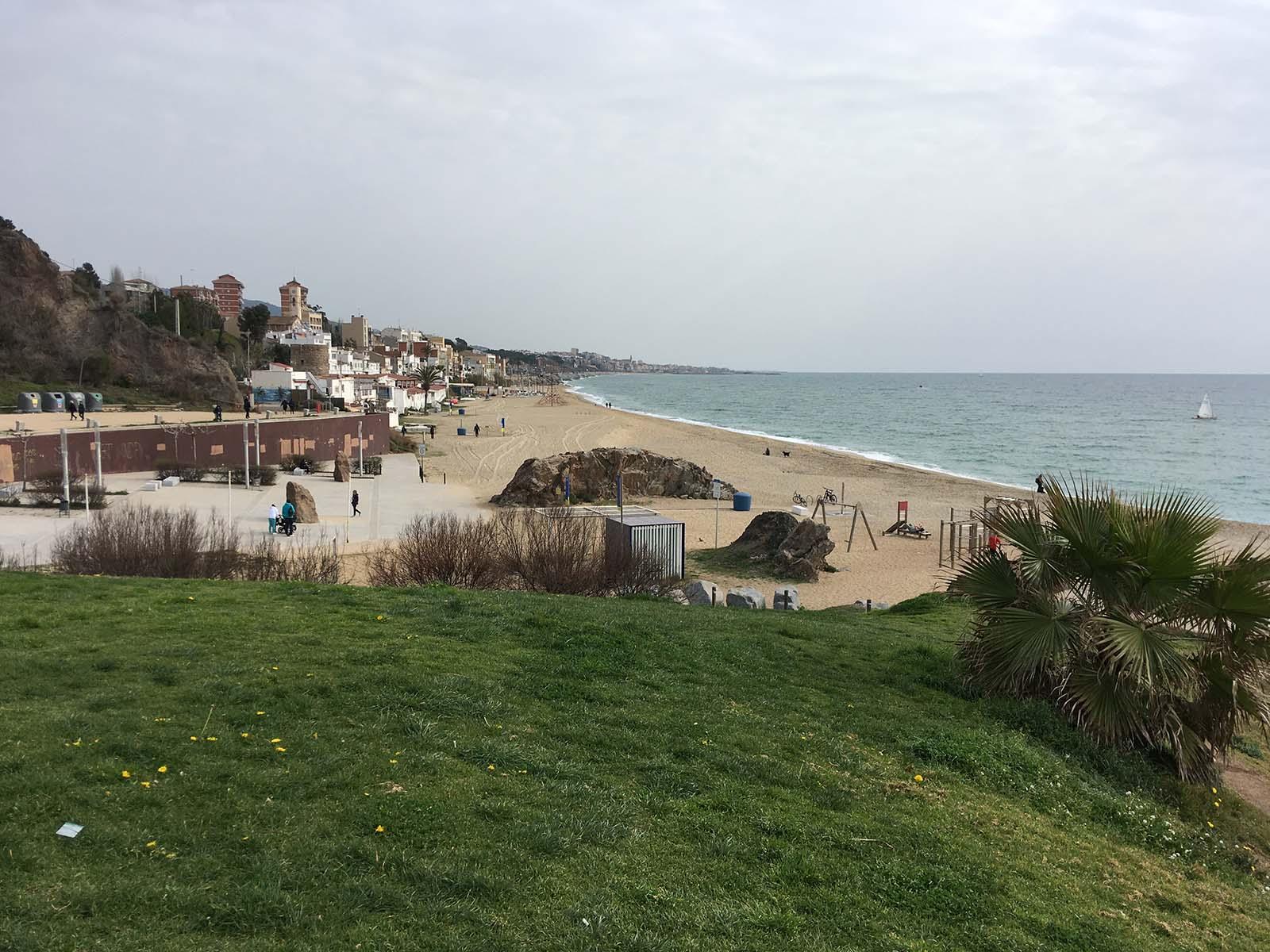 Playa de Montgat Norte (Maresme)