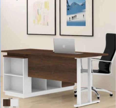 desain meja kantor modern minimalis