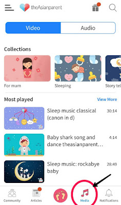 music for mommy and baby