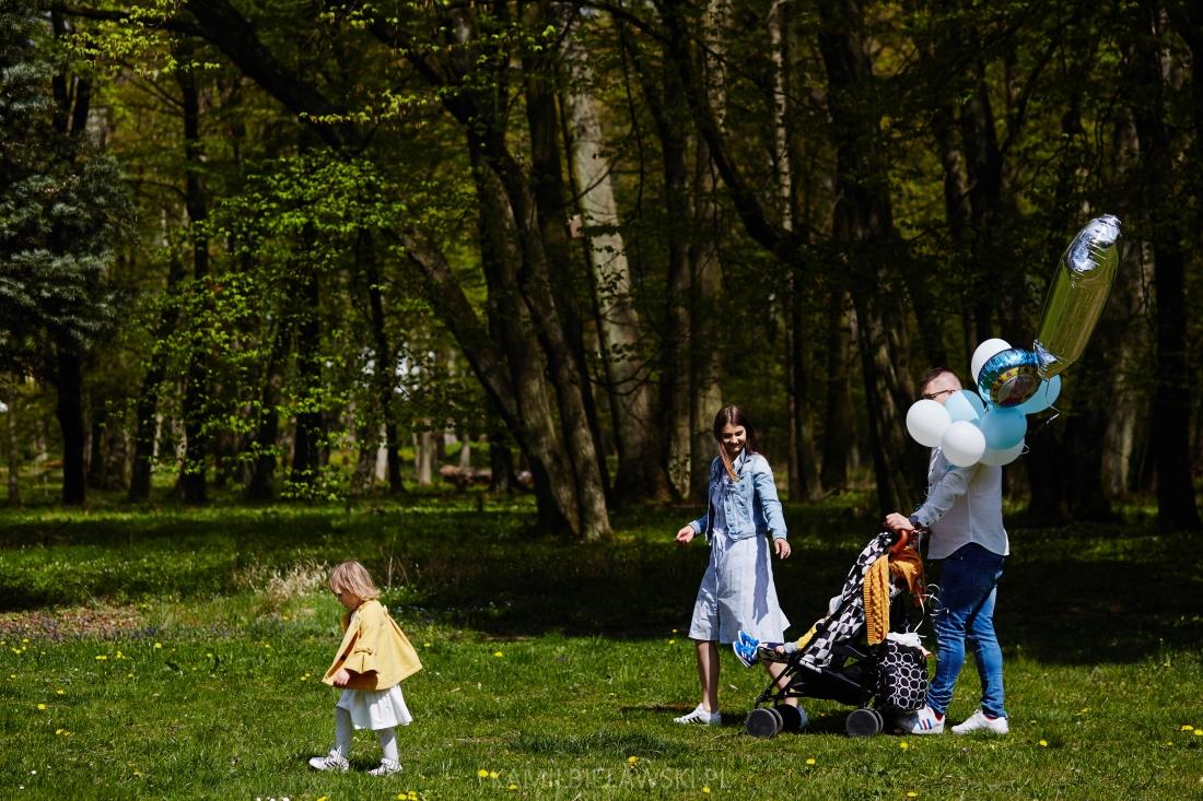 Fotograficzna sesja rodzinna w Roskoszy