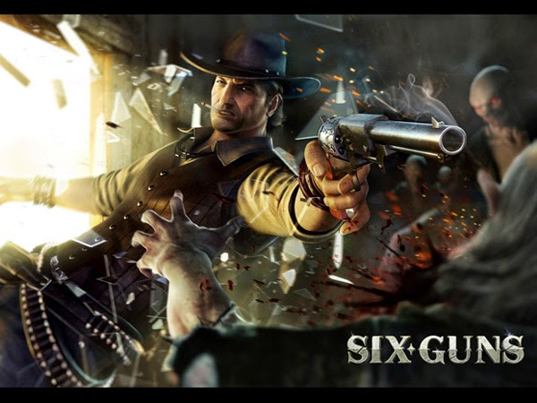 Six Guns 2.1.0 MOD APK+DATA (Unlimited Money)