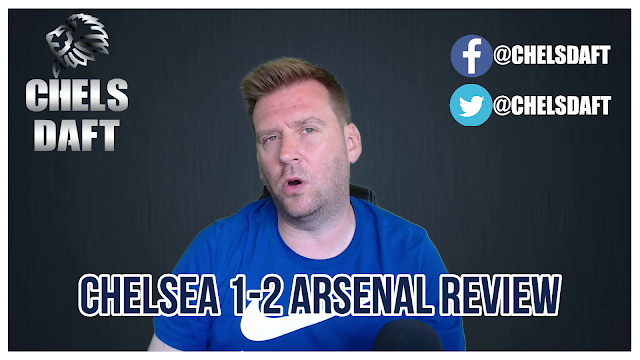 CHELSEA 1-2 ARSENAL REVIEW   A GOOD START TURNS INTO A NIGHTMARE.