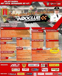 Indoclub Championship 2018 Seri 2 Semarang 5-6 Mei 2018