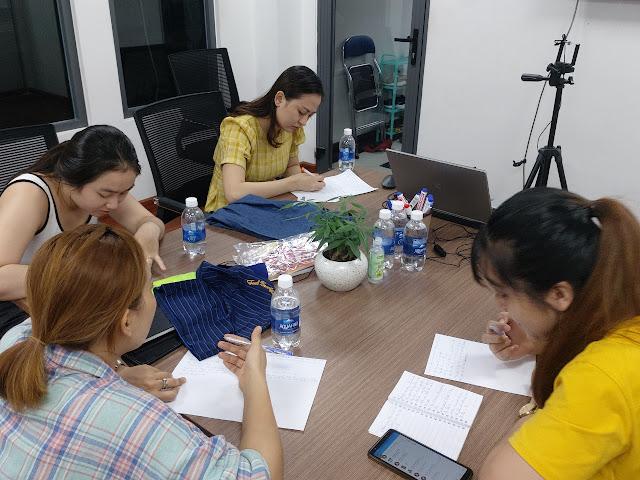 Lớp học livestream thực tế tại TP HCM