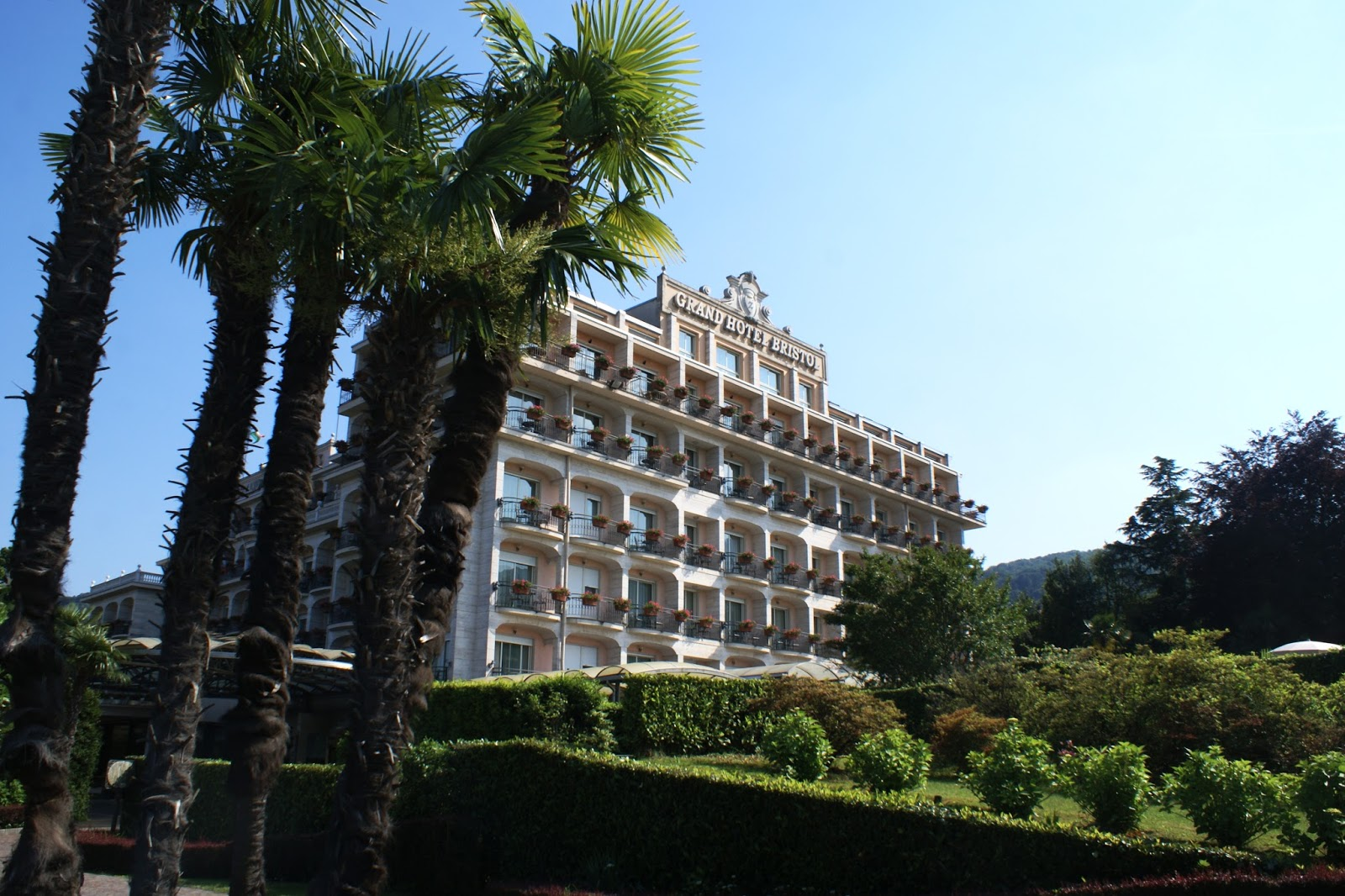 hotel bristol stresa italia italy piemonte lago maggiore