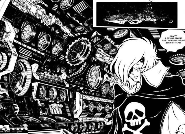 Capitán Harlock es uno de los mejores mangas de la historia