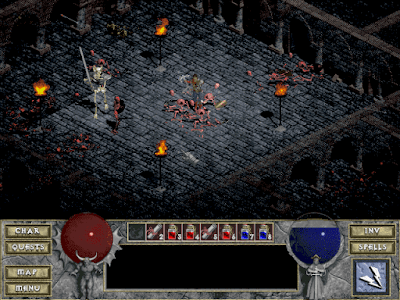 diablo 1 game play