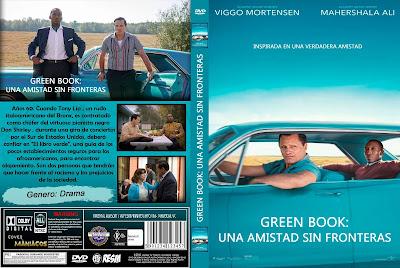 CARATULA 1 GREEN BOOK: UNA AMISTAD SIN FRONTERAS - LIBRO VERDE - GREEN BOOK [COVER DVD]