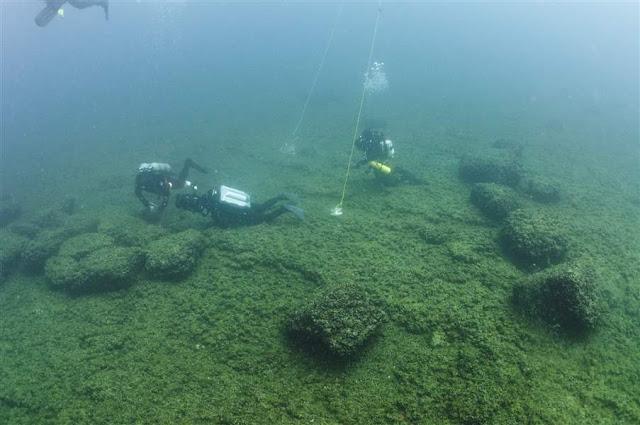 Prehistoric people hunted caribou on ancient Lake Huron ridge