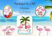 FLAMINGOS in LOVE