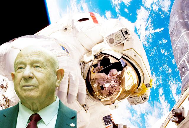 """توفي رائد الفضاء السوفيتي الأسطوري أليكسي ليونوف عن عمر يناهز 85 عامًا بعض صراع طويل مع المرض. الذي كان أول رجل يقوم بممارسة السير في الفضاء عام 1965.    والذي تم تزيينه مرتين بأعلى شرف في البلاد ، بطل الاتحاد السوفيتي.  وقال رائد الفضاء الروسي أوليج كونونينكو """"هذه خسارة لكوكب الأرض بأكمله"""".    وقالت ناتاليا فيليمونوفا ، مساعدة ليونوف ، لوكالة فرانس برس إنه توفي في مستشفى بوردينكو في موسكو بعد مرض طويل.  أرسل الرئيس الروسي فلاديمير بوتين تعازيه لأرملة ليونوف وابنته ، واصفا إياه بأنه """"زعيم حقيقي"""" و """"شخص بطولي"""".  وعلى موقع تويتر كتب رائد الفضاء الكندي كريس هادفيلد أحد أفضل الناس الذين عرفتهم على الإطلاق. أليكسي أركيبوفيتش ليونوف ، فنان ، زعيم ، رائد في الفضاء وصديق ، أحييكم""""."""