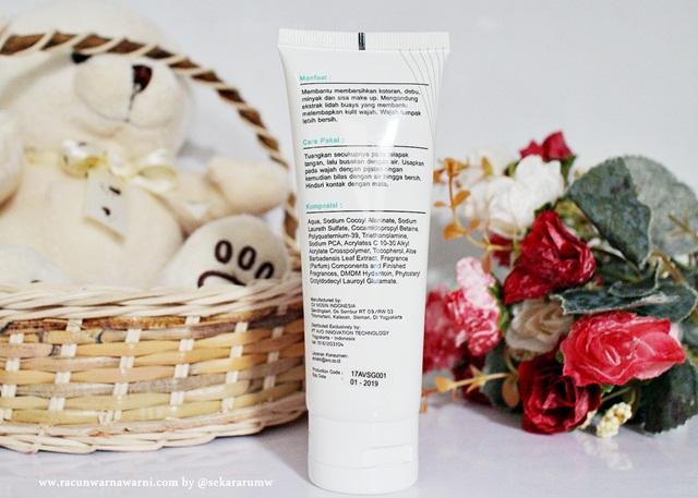 bahan-bahan dan komposisi avoskin facial wash