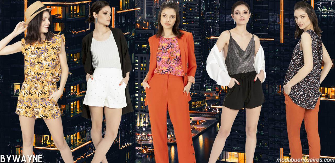 Moda primavera verano 2020: ropa de mujer estilo casual, vestidos, monos, pantalones, blusas y tops primavera verano 2020.