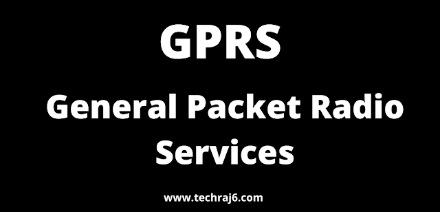 GPRS full form, What is the full form of GPRS
