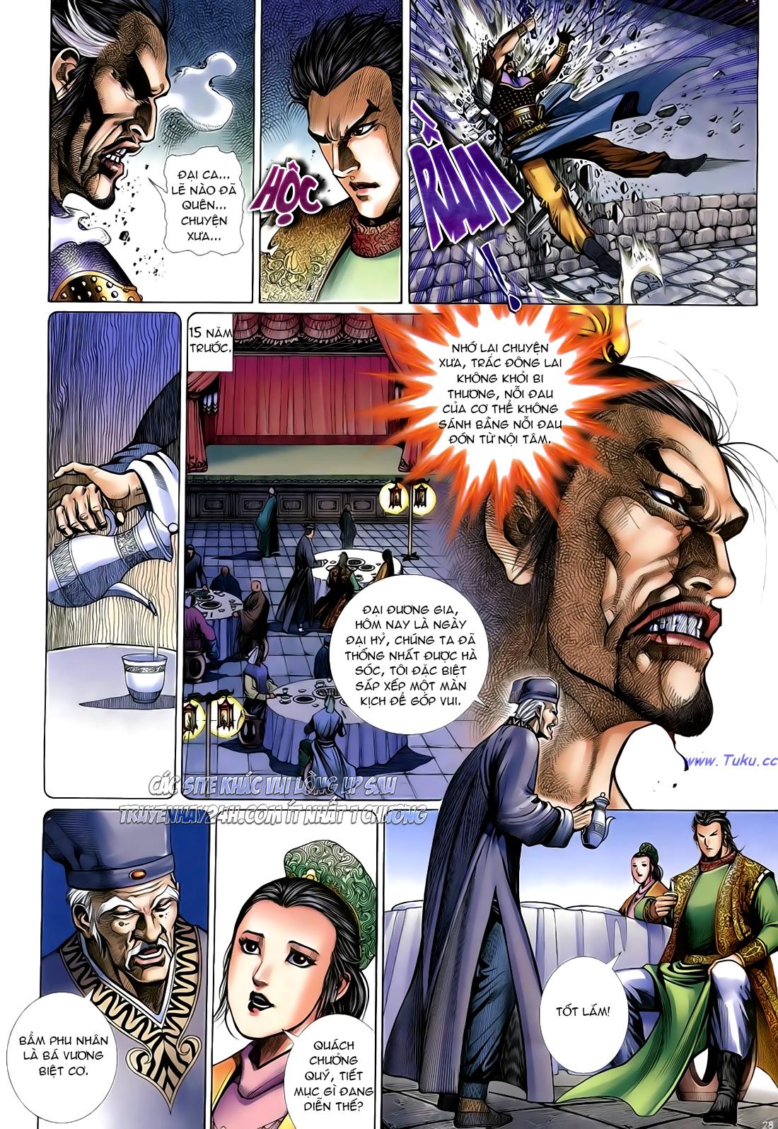 Anh hùng vô lệ Chap 24 trang 29