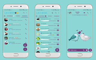 Bird Love Theme For YOWhatsApp & Fouad WhatsApp By Leidiane