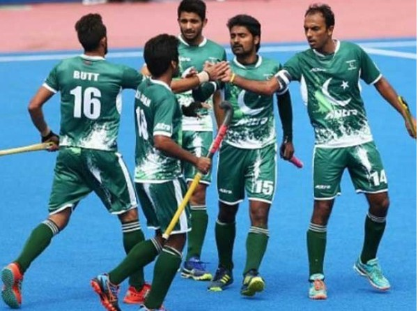An announced 18-member national hockey team for the World Cup
