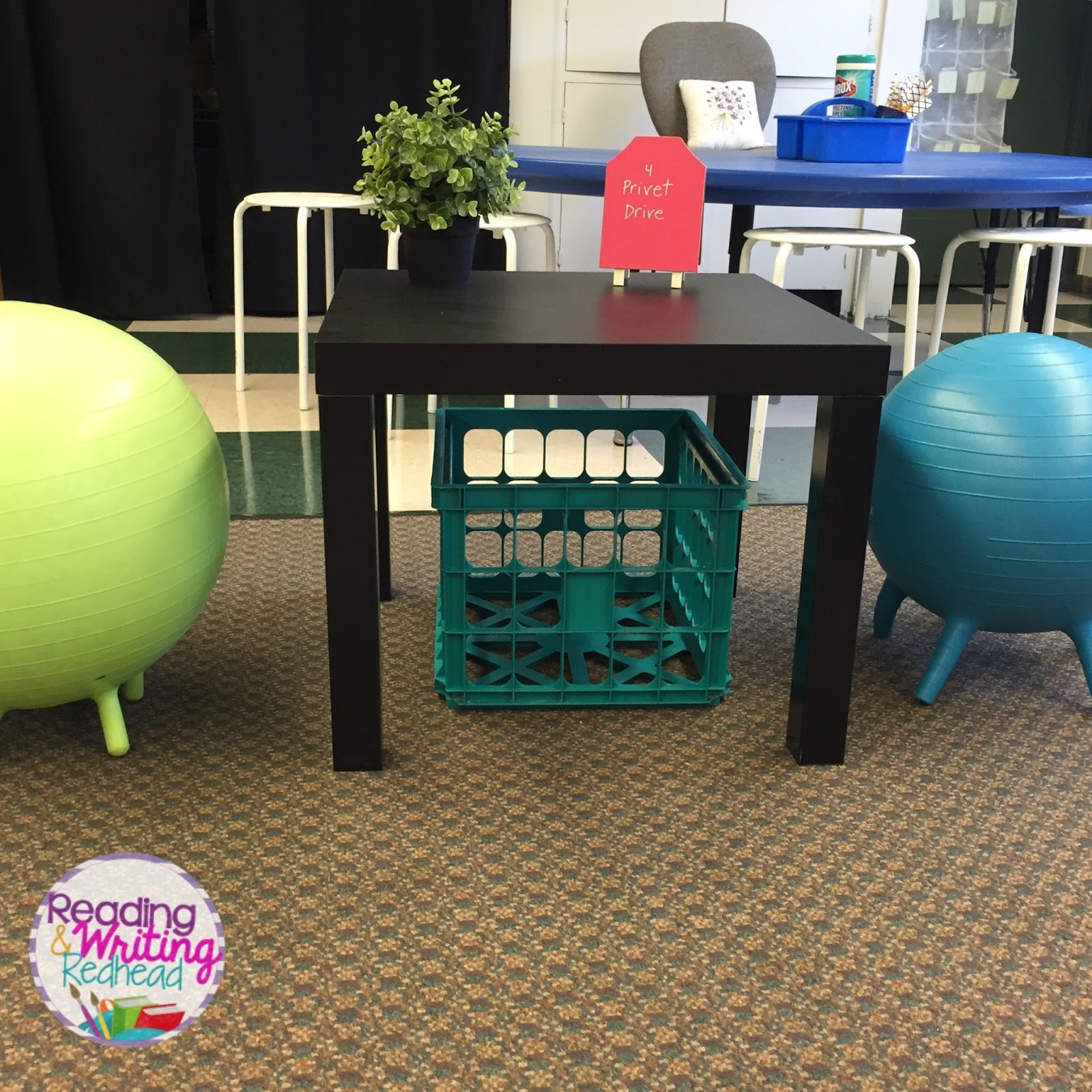 Reading and Writing Redhead Flexible Seating What I m Keeping