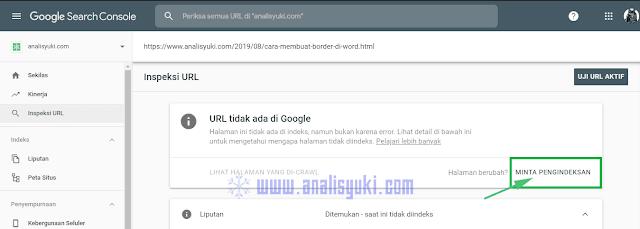 Cara Terbaru Agar Artikel Blog Cepat Terindex di Mesin Pencari Google