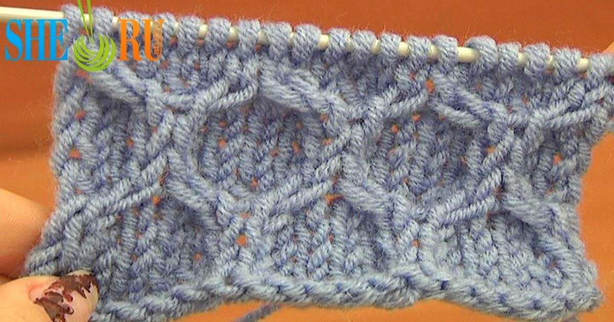 Sheruknitting Knitting Stitch Pattern Tutorial 14